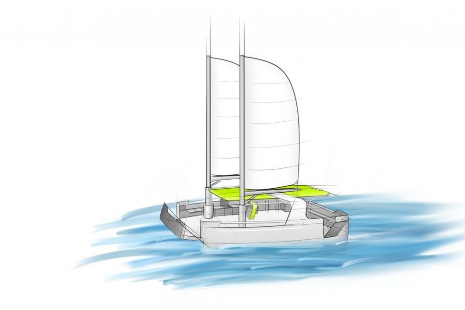 Design-Skizze Green Water Taxi