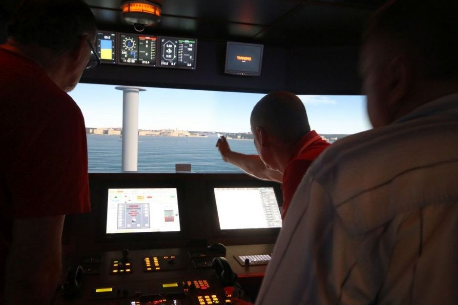 RotorShip Training in Leer